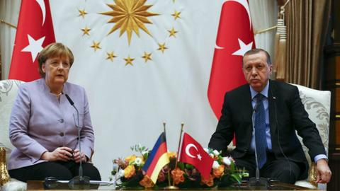 Turkey's EU relations during Angela Merkel's rule as chancellor
