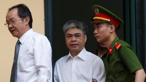Former chairman of Petro Vietnam sentenced to death in mass graft trial