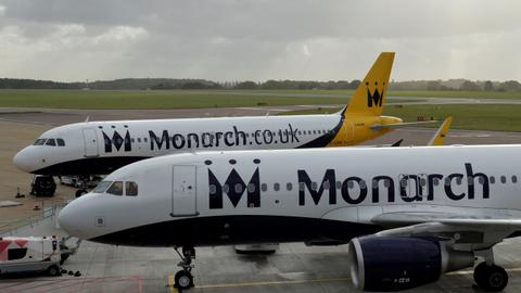 UK's MonarchAirlines goes bust