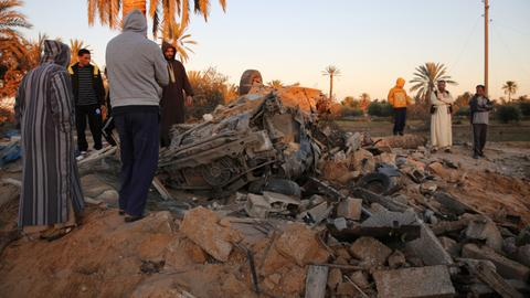 Deadly suicide bomb attack hits Libya's Misrata