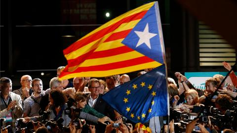 Catalan crisis poses new challenge for battered EU