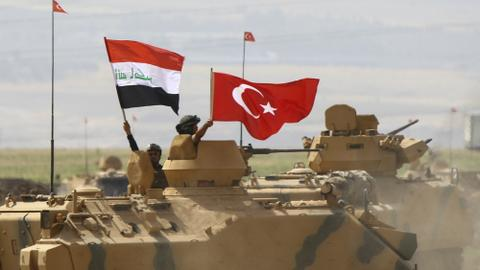 Iraq prepared to use force to gain control of borders