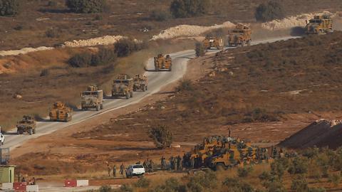 Turkey's military says it has started to survey Syria's Idlib