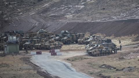 What are Turkish troops doing in Syria's Idlib?