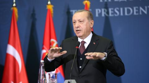 President Erdogan targets US ambassador over visa dispute