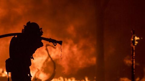 17 dead, more than 100 missing as wildfires rage in northern California