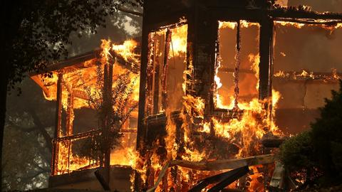 In Pictures: California wildfires