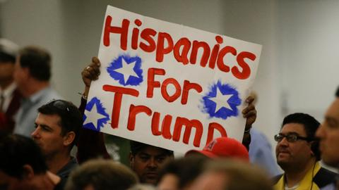 Hispanic Trump voters say they stand steadfast with president