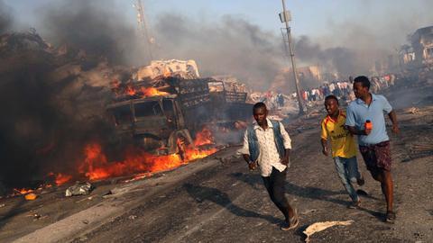 World leaders condemn Somalia bombing