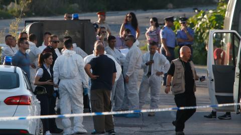 Maltese investigative journalist killed by car bomb
