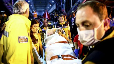 Somalis injured in Mogadishu bombing being treated in Turkey