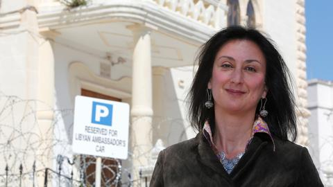 Maltese journalist's son says mother was killed for exposing corruption