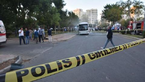Twelve injured by bomb attack in Turkey's Mersin