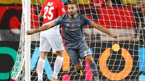 Tosun shines in Besiktas Champions League win over Monaco