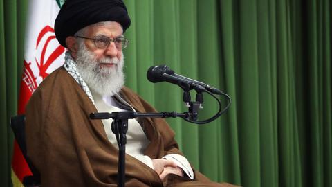 "Iran's religious leader threatens to ""shred"" nuclear deal if US quits it"