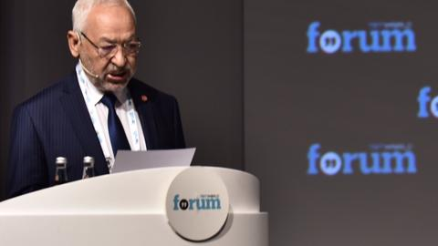 "Arab world enters a ""new era of democratic transition"" says Ghannouchi"