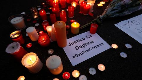 Maltese prime minister promises reward to uncover journalist killer