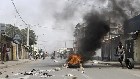 Five killed in Togo during anti-government protests