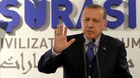Erdogan blasts US for issuing his bodyguards with arrest warrants