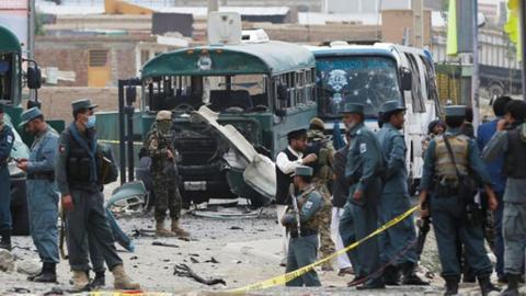 Car bomb kills 15 Afghan army cadets in Kabul