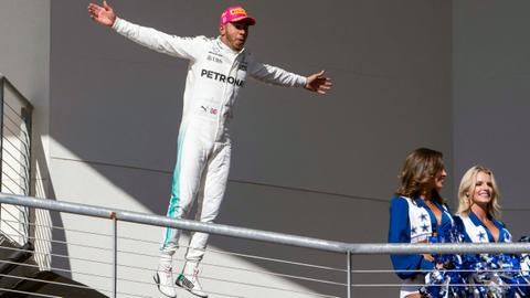 Hamilton on verge of 4th world title after US triumph