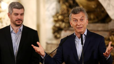 Argentina's President Macri's coalition wins critical mid-term elections