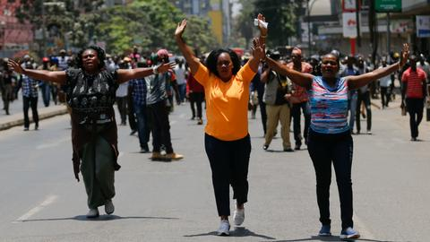 UN and AU appeal for calm ahead of a tense Kenya vote