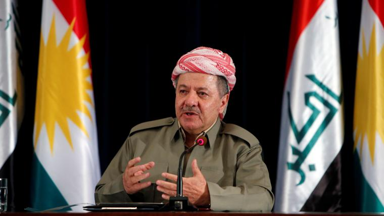 KRG leader Barzani says independence vote 'won't be in vain'