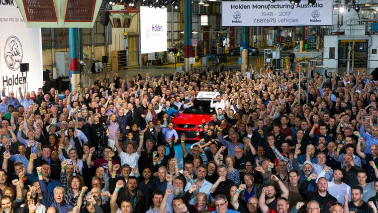 End of an era in Australia as Holden produces its last car