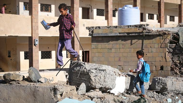 Yemen at risk of losing an entire generation to war