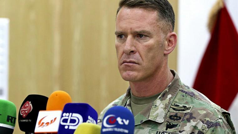 Pentagon condemns display of PKK symbols in Raqqa