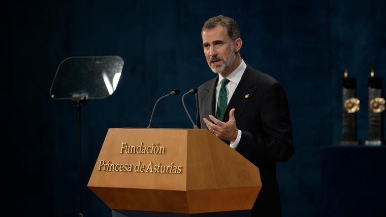 Spanish King Felipe says Catalonia is and will be a part of Spain