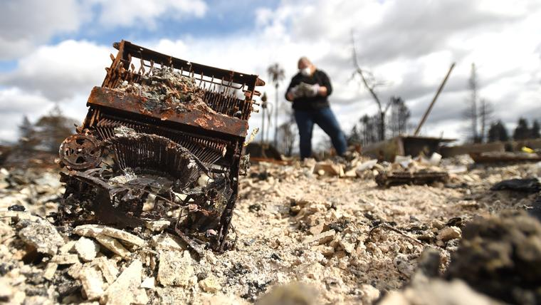 California wildfires losses estimated at over $1B
