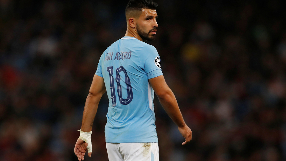 Manchester City star Sergio Aguero breaks ribs in vehicle crash