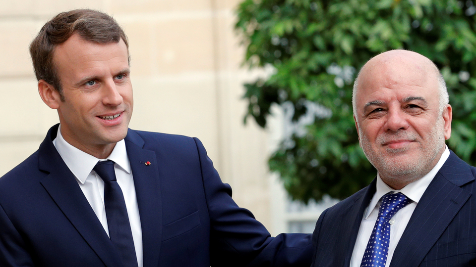 Macron offers to mediate between Iraqi government and Kurds