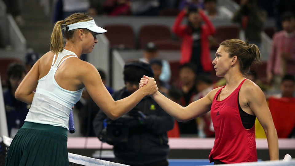 Simona Halep: 'It was special because I never beat Sharapova'