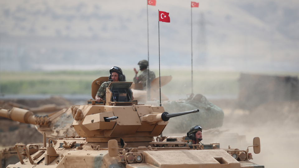Turkish troops prepare to enter Idlib province, Syria