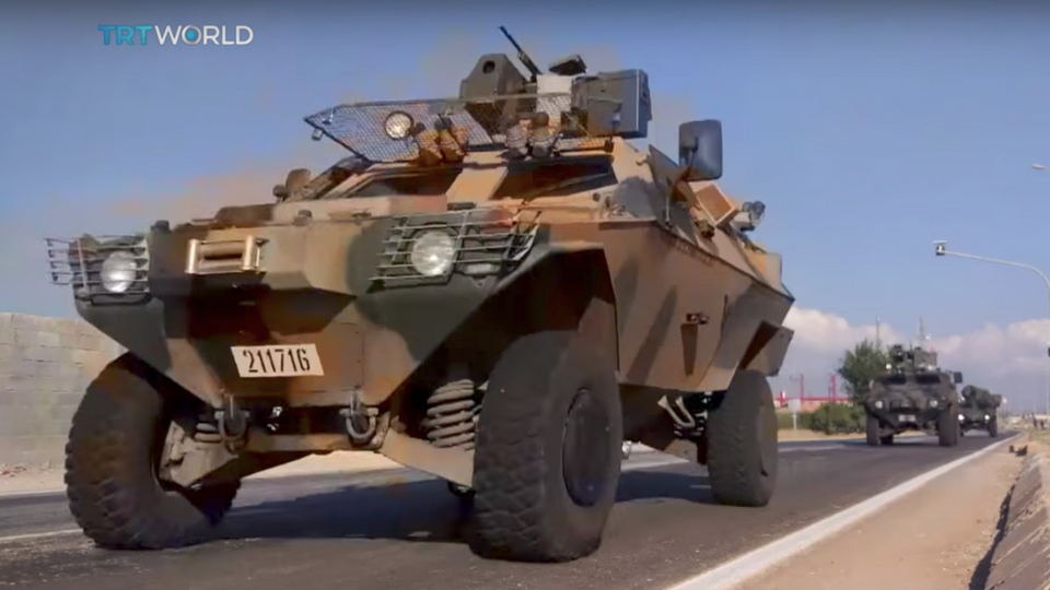 Turkish military has been on the move in Turkey's Hatay province on the border with Syria. (TRT World)