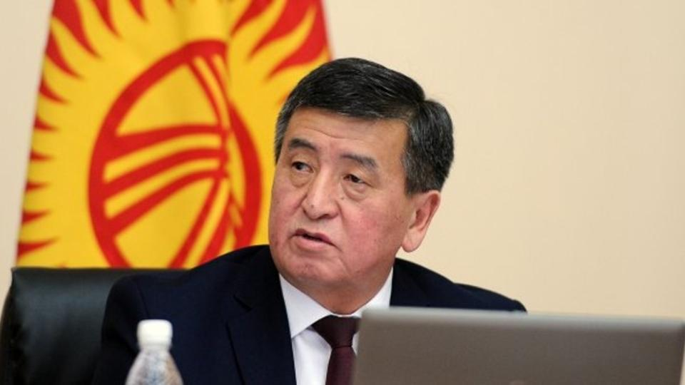 In Kyrgyzstan choose the President