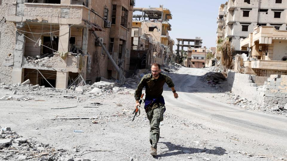 ISIS militants surrender in Raqqa, 'removed from city' by US-led coalition