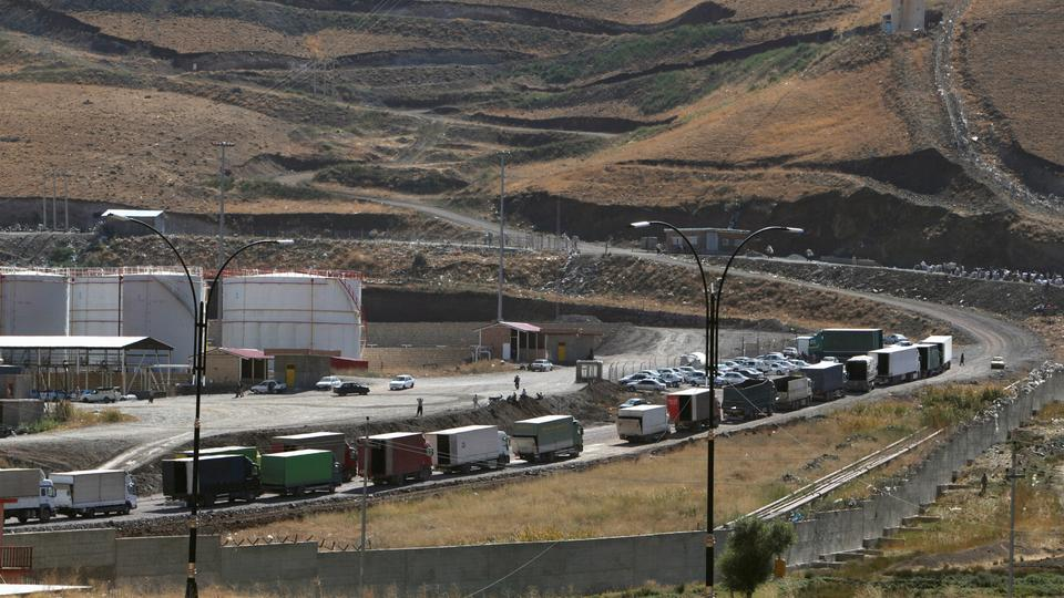 Iran closes main crossing with Iraq's Kurdish region