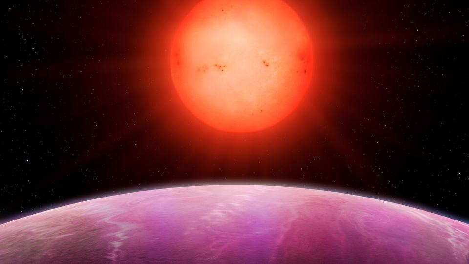 Giant planet orbiting a small star find stuns scientists