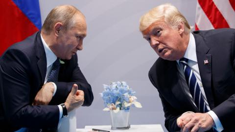 Putin informs Trump about talks with Assad