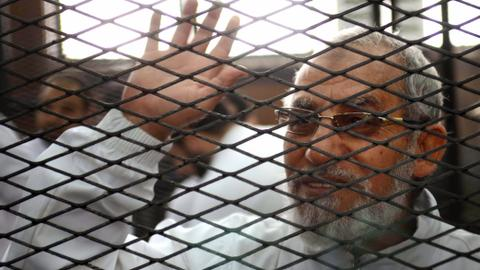 Supreme guide of Egypt's Muslim Brotherhood gets another life sentence