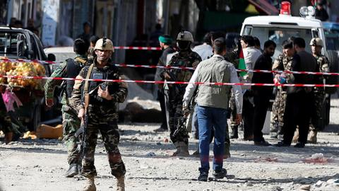 At least 14 dead as suicide bomber hits Shia mosque in Afghan capital