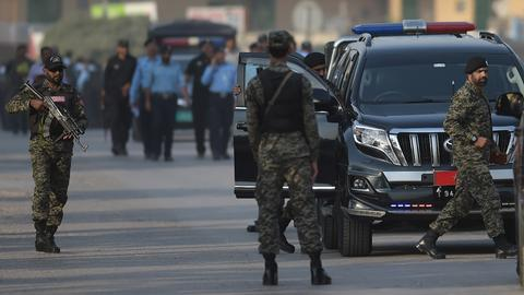 Ex-Pakistani PM Sharif's indictment adjourned until October 9