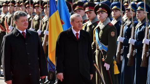 Turkey's President Erdogan visits Ukraine for bilateral, regional talks
