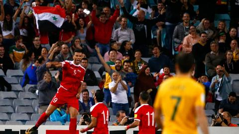 Syria's World Cup hopes end in a 2-1 extra-time loss to Australia