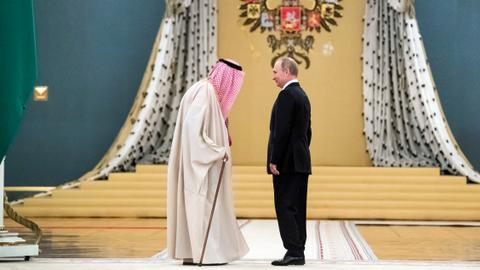 Does King Salman's historic visit to Moscow herald a new era?