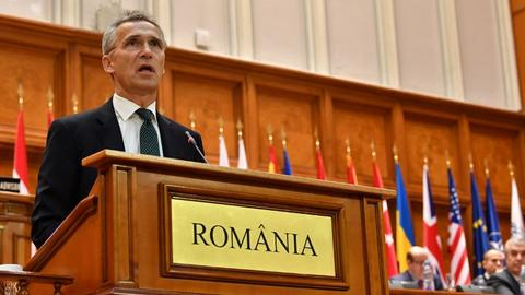 NATO chief urges US and Turkey to